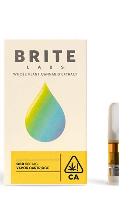 Brite Labs | Remedy Dream CBD 1:1 Cartridge | 0 5g | East of