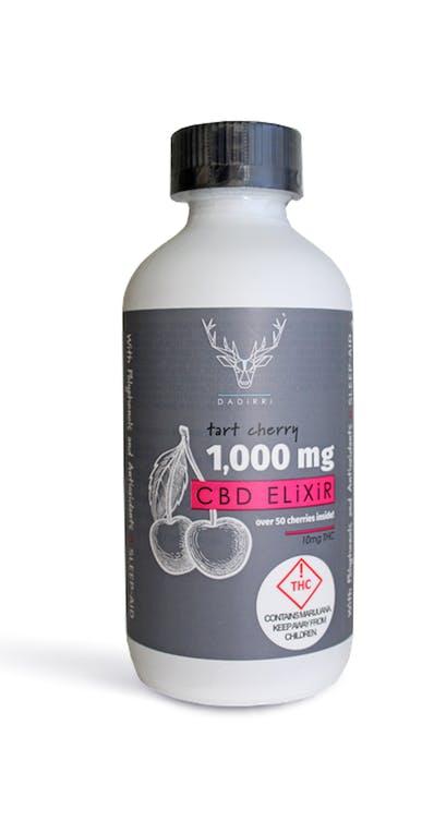 Dadirri   Tart Cherry CBD Elixir   1000mg   Billo Premium Cannabis
