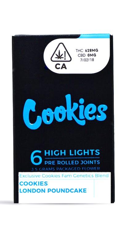 Cookies   London Poundcake x Hi Octane Pre-Roll   6-pack