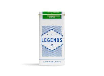 Legends | Blue Sherbet Pre-Roll 5-Pack | 5g | Have a Heart