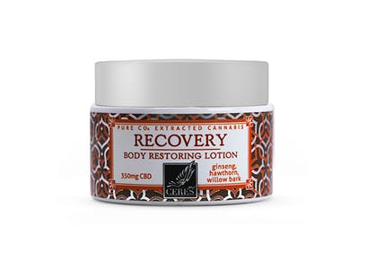 Ceres | Recovery Body Restoring Lotion | 2oz | Zips Cannabis on 72nd