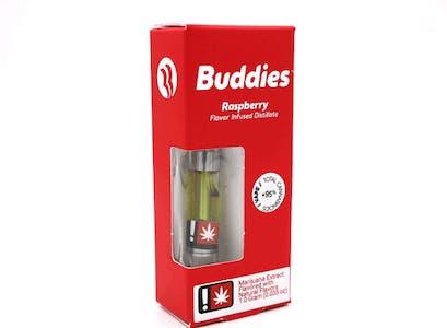 Buddies - Raspberry - Flavor Infused Distillate Cartridge